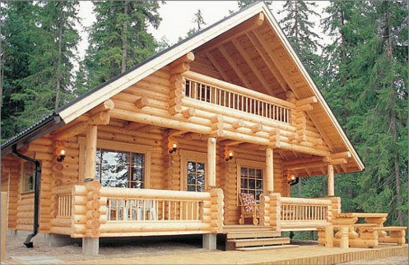 drewniane domy